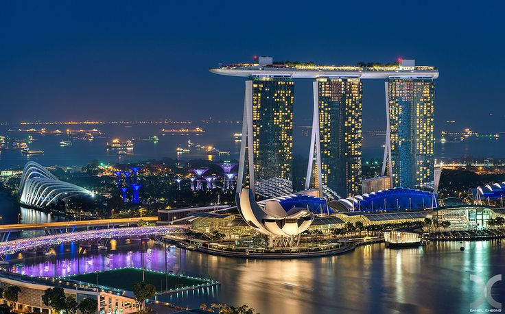 Marina bay sands singapore launches wechat ibeacon for Singapour marina bay sands piscine