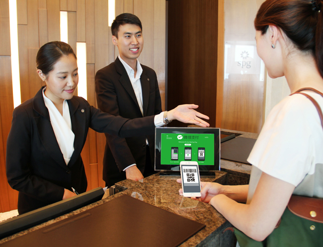 mobile payment platform-taking over online marketing-hotel-WeChat Ads-FOMO Pay