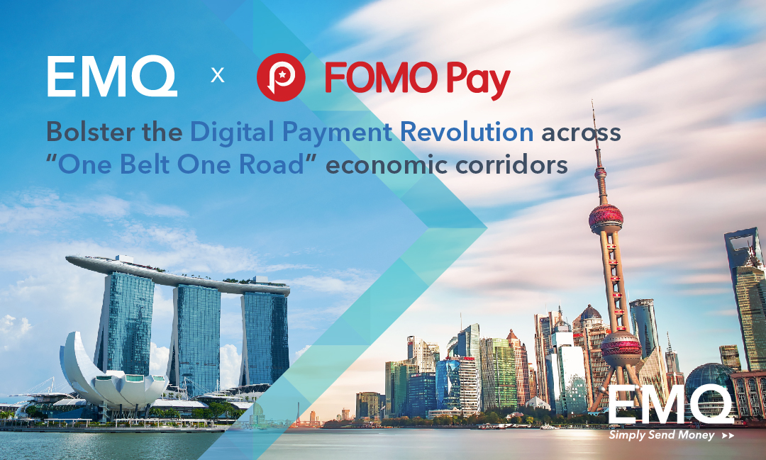 EMQ-FOMO Pay-Bolstering Digital Payment-Revolution-One Belt One Road-Asia